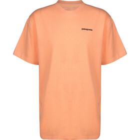 Patagonia P-6 Logo Bluzka z krótkim rękawem Mężczyźni, peach